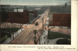 The Public Square, West Federal St., Birdseye View