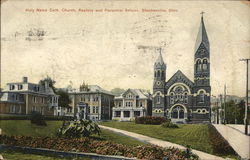 Holy Name Cath. Church, Rectory and Parochial School