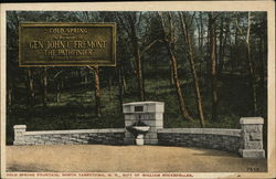 Cold Spring Fountain, Gift of William Rockefeller