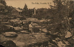 View of the Falls Postcard