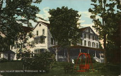 Moungaup House Postcard
