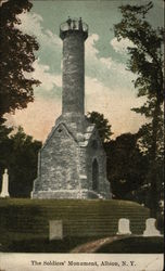 The Soldiers' Monument Postcard
