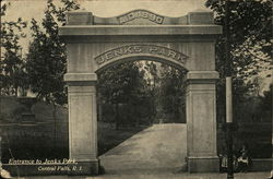 Entrance to Jenks Park