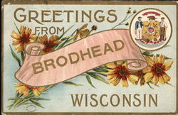 Greetings from Brodhead Wisconsin