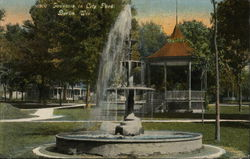 Fountain in City Park