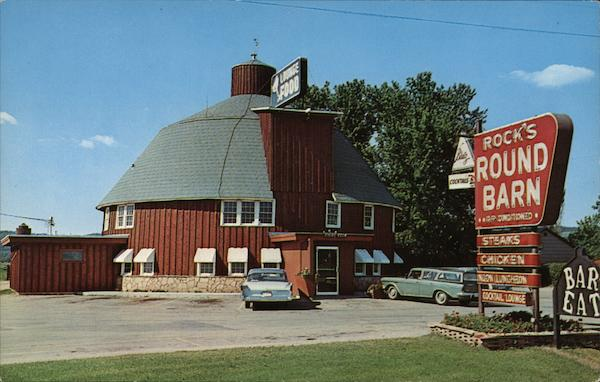 Rock's Round Barn Spring Green Wisconsin
