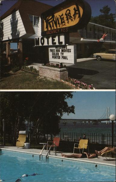Riviera Motel Mackinaw City Michigan