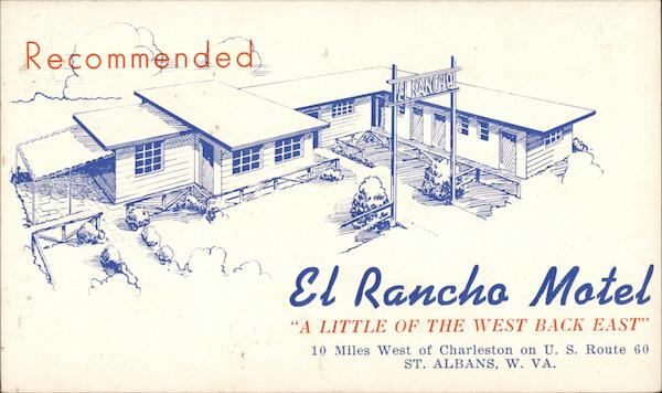El Rancho Motel St. Albans West Virginia