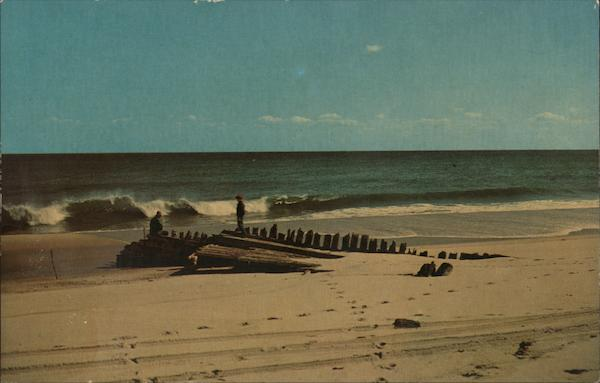 Old Wreck on the Beach, Cape Cod Massachusetts