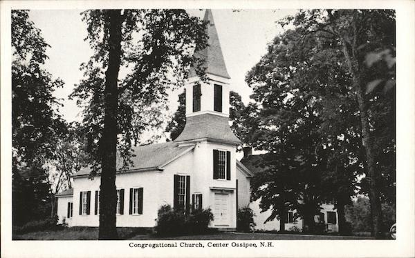Congregational Church Center Ossipee New Hampshire