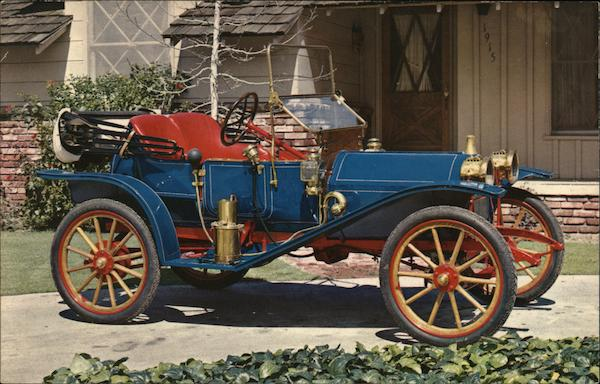 1910 Hupmobile Runabout Cars