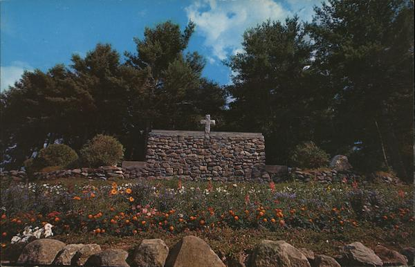 The Altar of the Cathedral of the Pines Rindge New Hampshire