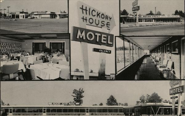 Hickory House Motel, Restaurant, Gift Shop and Filling Station Poplar Bluff Missouri