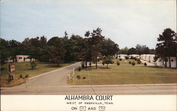 Alhambra Court Knoxville Tennessee