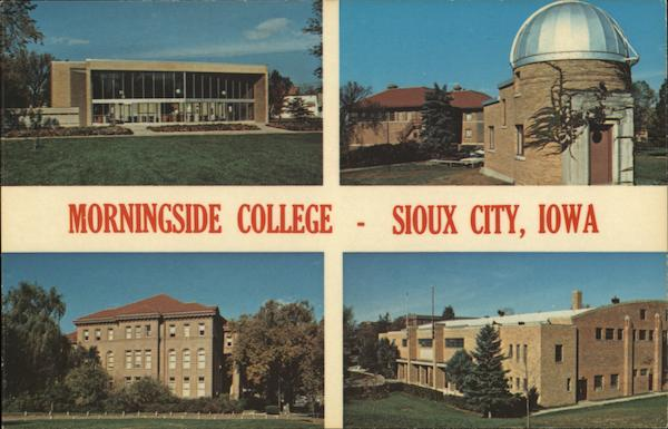 Morningside College Sioux City Iowa Harold L. Pospehil