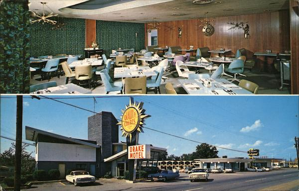 The Drake Motel and Restaurant Chattanooga Tennessee