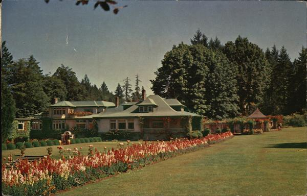 The Butchart Gardens and The Residence Victoria Canada