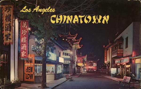 Picturesque Chinatown Los Angeles California