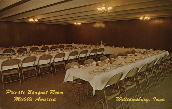 Private Banquet Room, Middle America Willaimsburg Iowa