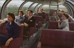 Astra Dome Observation Lounge - Union Pacific Railroad