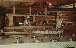 Dining Hall and Kitchen at the North Wisconsin Logging Camp