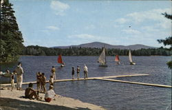 Waterfront Activities at Camp Union on Otter Lake