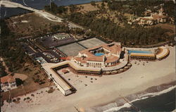 Aerial View of the Exclusive Bath and Tennis Club