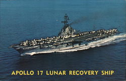 U.S.S. Ticonderoga (CVS-14) - Apollo 17 Lunar Recovery Ship