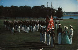 The United States Naval Academy Color Girl