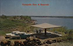 Kanopolis Dam and Reservoir - Picnic and Camping Area