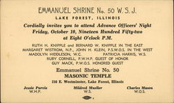 Emmanuel Shrine No. 50 Masonic Temple