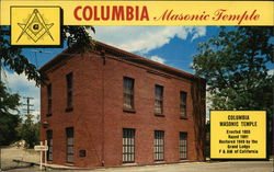 Columbia State Park Masonic Temple