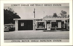 Corbett Garage and Texaco Service Station - Official Motor Vehicle Inspection Station