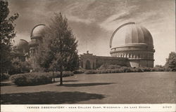 Yerkes Observatory On Lake Geneva