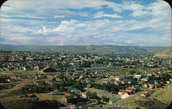 Panoramic View of Town