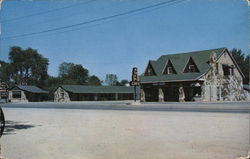 Wadlington Rock Motel Postcard