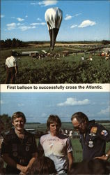 First Balloon to Successfully Cross the Atlantic