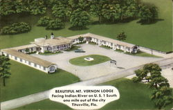 Mt. Vernon Lodge Postcard