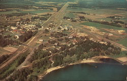 Aerial View of Nevis, Minnesota
