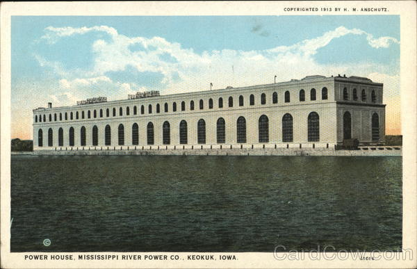 Power House, Mississippi River Power Co. Keokuk Iowa