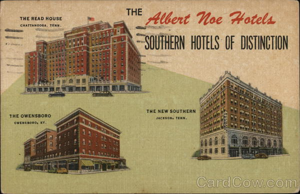 The Albert Noe Hotels: The Owensboro Tennessee