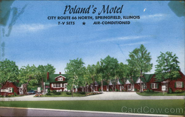 Poland's Motel Springfield Illinois