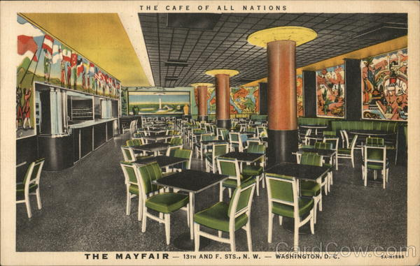 The Mayfair Cafe Washington District of Columbia