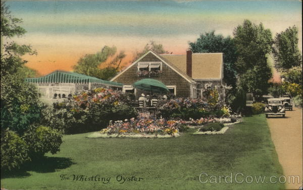 The Whistling Oyster Tea House and Shop Ogunquit Maine