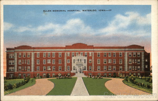 Allen Memorial Hospital Waterloo Iowa