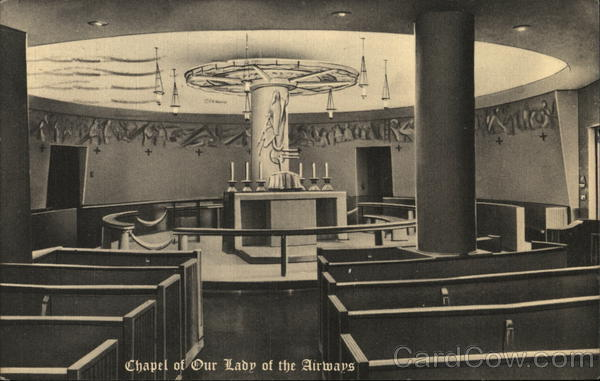 Chapel of Our Lady of the Airways, Logan International Airport Boston Massachusetts