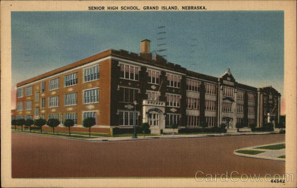 Senior High School Grand Island Nebraska