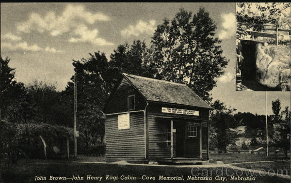 John Brown-John Henry Kagi Cabin-Cave Memorial Nebraska City