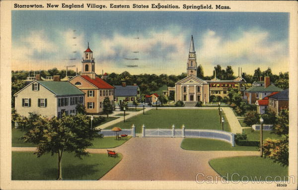Storrowton, New England Village, Eastern States Exposition Springfield Massachusetts