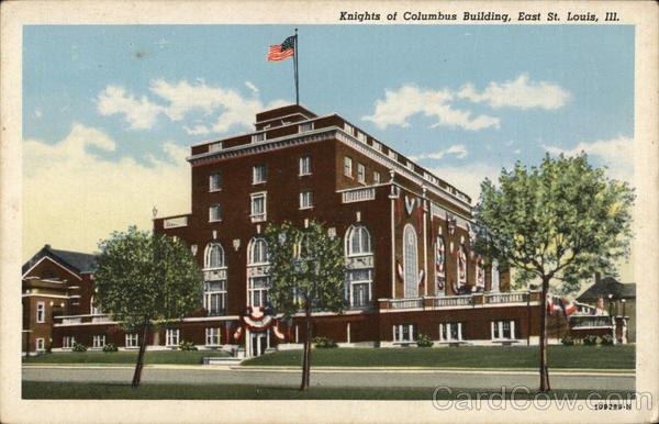 Knights of Columbus Building East St. Louis Illinois
